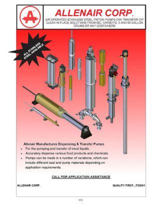 Allenair Pump Catalog